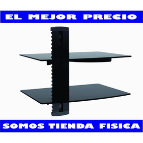 Base De 2 Repisas Dvd Directv Blu-ray Deco Tv Wii Ps3 Tienda