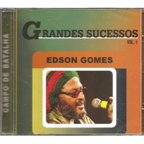 Cd Edson Gomes - Grandes Sucessos Campo De Batalha (lacrado)