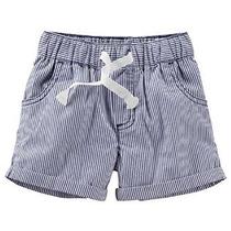 Unisex Bebé Rayadas Tejidas Pantalones Cortos De Carter (beb