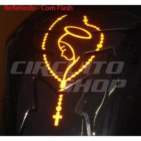Protetor Tanque Tankpad Refletivo Moto Model Terço Maria Top