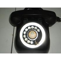 Telefono Entel Negro De Baquelita