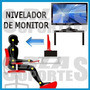Tarima Pedestal Elevador Monitor Pc Base 35x25x15 Cms Tv Led