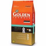 Ração Golden Cão Adulto Raça Pequena Frango 15kg Mini Bits