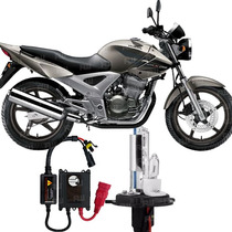 Kit Xenon Moto Honda Cbx 250 Twister Lampada 8000k H4-2