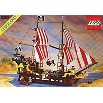 Juguete Rare Vintage 1989 Lego Black Seas Barracuda Pirate