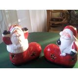 Adornos De Navidad En Ceramica C/ Luz Decoracion Navidad
