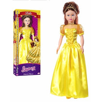 Boneca Gigante Stephany Princesa Bella E A Fera Baby Brink