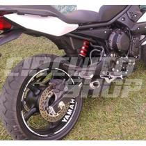 4 Adesivos Roda Refletivo Tuning Moto Yamaha Xj6 R1 Fazer R6