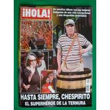 Chespirito El Chavo Del Ocho Revista Hola Edicion Especial
