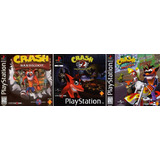 Crash Bandicoot 1 2 3 Team Racing Resident Evil Ps3