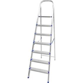 Escada Ravenna De Alumínio C/ 7 Degraus - Metalmix