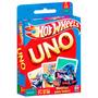 Uno Hot Wheels Cards Game Jogo Cartas Para Família Mattel