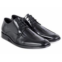 Sapato Derby Em Couro Legítimo - Modelo Brooksfield 30% Off