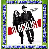 Serie The Blacklist (lista Negra) 1ª Até 4ª Temporada +frete