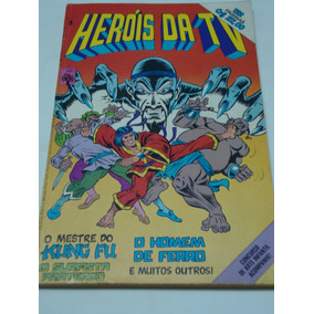 Heróis Da Tv 3 De 1979 Gibi Antigo Raro Abril Quase Banca