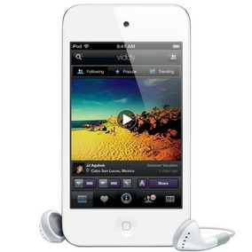Ipod Touch 32gb Branco Apple 4g Branco (md058bz/a)