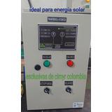 Tablero Transferencia Automatica Energía Solar Baja A Red 6k