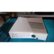 Xbox 360 Slim Branco Completo