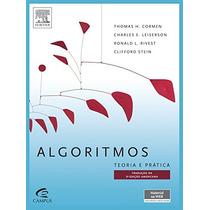 Ebook Algoritmos Teoria E Prática - Thomas H. Cormen 3ªed