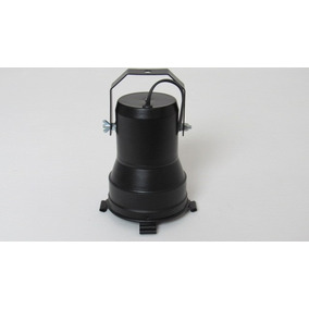 Refletor Spot Par38 Com Soquete E-27 Em Aluminio Preto