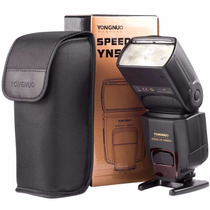 Flash Yongnuo Yn565 Ex Ii Ttl Para Canon Nikon Envio Gratis