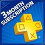 Tarjeta Playstation Psn Plus3 Meses Usa- Ps4 Ps3 Ps Vita