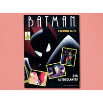 Batman O Desenho Da Tv - Álbum De Figurinhas - Incompleto