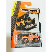 Matchbox All Terrain Crane Novo Original Na Caixa 2014