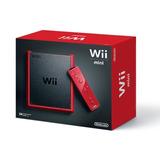 Consola Roja Red Wii Mini Console Motionplus Bundle (wii)