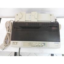 Impressora Matricial Epson Lx-300 Com Tampa E Fita