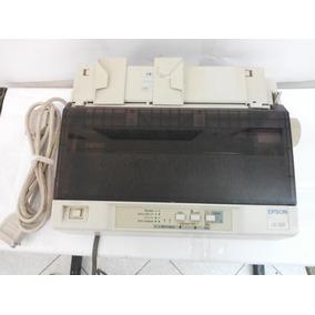Impressora Matricial Epson Lx-300 C/ Tampa (256 Vendidos)