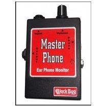 Amplificador De Fone De Ouvido Mp (master Phone) Black Bug