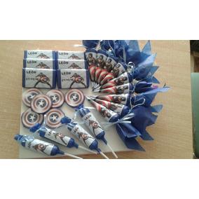 Candy Bar Personalizado 30 Chicos, 180 Golosinas Miralo