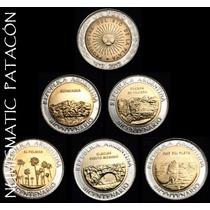 Monedas Bicentenario + Nueva 1813-2013 - Sin Circular