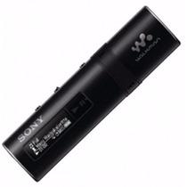 Mp3 Player Sony 4gb Walkman Radio Fm Nwz-b183f Preto