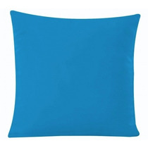 Capa Almofada 40x40 Oxford Azul Turguesa,poltrona,decoração