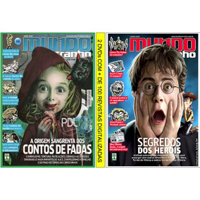 Mundo Estranho 2 Dvds Com + 100 Revistas Digitalizadas