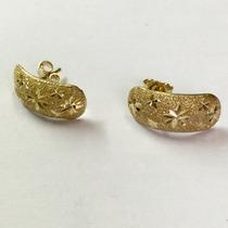 Ngold Brinco Ouro Amarelo Estrelas 18k 750
