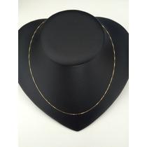 Correntinha De Ouro 18k - 750 Veneziana 45cm