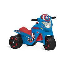 Moto Eletrica Infantil Capitao America Azul Bandeirante
