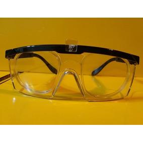 Oculos Segurança Proteção Com Clip Para Lentes De Grau
