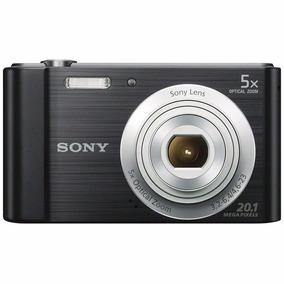 Câmera Sony Cyber-shot Dsc-w800 Preto