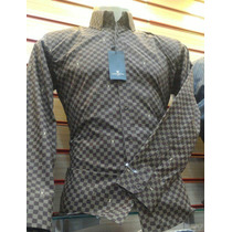 Camisa Social Slim Louis Vuitton