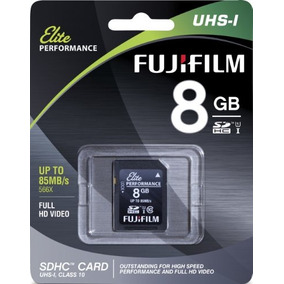 Fujifilm Elite 8gb Sdhc Class 10 Uhs-1 Flash Memory Card