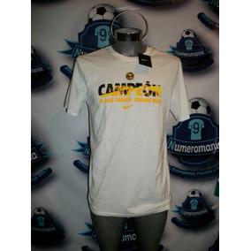 Playera Oficial Nike Original América Campeón 2014 Blanca