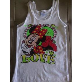 Franelillas De Niñas Minnie Mouse Talla 10