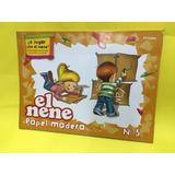 Block El Nene Numero 5 Papel Madera