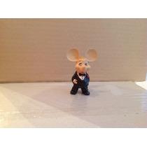 Miniatura Topo Gigio Don Corleone 7 Cm Resina Bonellihq D17