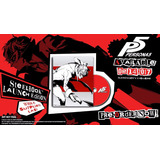 Persona 5 Cinco Playstation 4 Ps4 Steelbook Edition