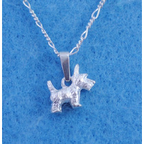 Dije Perro Schnauzer Miniatura Mascota Fina Ley.925 D134